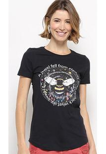 Camiseta Hapuna Baby Look Fell From Eternity Feminina - Feminino
