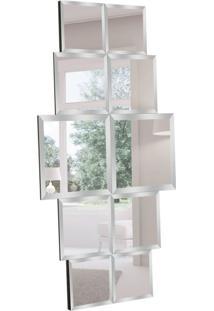 Espelho Decorativo Matera 80X150 Cm Preto