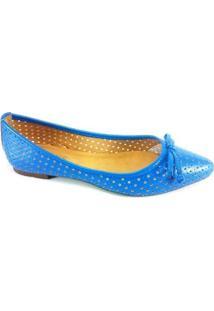 Sapatilha Rr Shoes Laser - Feminino-Azul