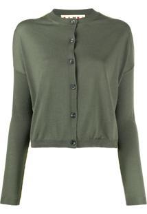 Marni Cardigan Cropped - Verde