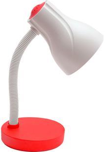 Luminária De Mesa Spiralle - Startec - Vermelho