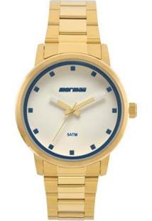 Relógio Mormaii Feminino Mauii- Mo2035Ja/4A - Feminino-Dourado