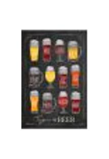 Painel Adesivo De Parede - Cervejas - Bar - 1484Pnm