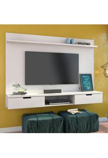 Painel Para Tv 47 Polegadas Gondor Branco 163 Cm