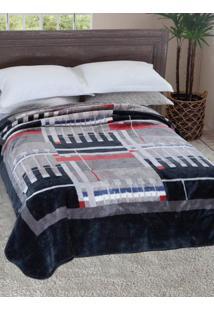 Cobertor Casal Jolitex Cinza