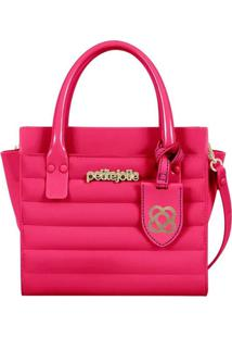 bba4983606 Compre de Boa. Bolsa Rosa Feminina Petite Jolie Fosca Amor Bag ...