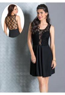 ccbd307c1 Vestido Moda Pop Renda feminino | Gostei e agora?