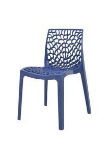 Cadeira Gruver Polipropileno Azul Avio - 34330 Azul