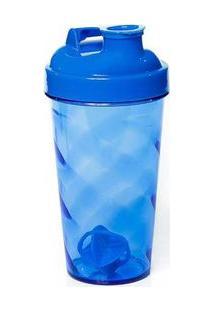 Coqueteleira Azul Com Tampa E Batedor Azul Sandic