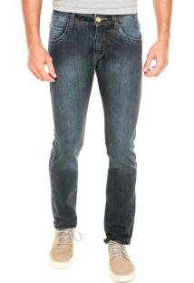 Calça Jeans Fiveblu Skinny Razon Denim Division Azul