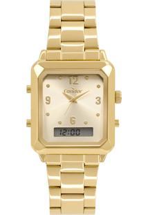 Relógio Condor Feminino Analógico/Digital Dourado Cobj3718Ab4X - Kanui