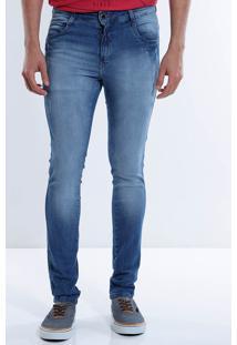 Calça Jeans Slim Masculina Max Denim