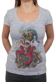 Joker - Camiseta Clássica Feminina