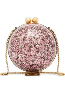 Marzook Clutch Sphere Com Brilho - Estampado