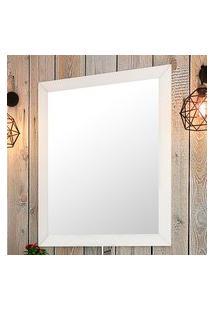 Espelheira Para Banheiro Provença 95X78Cm Bosi Branca