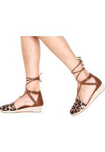 1a4bde8dd2 ... Scarpin Dafiti Shoes Anabela Baixa Marrom