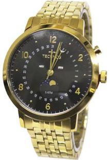 Relógio Feminino Technos Analógico 6P80Ac/4P - Unissex-Dourado