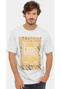 Camiseta Code Sktshirts Gold Masculina - Masculino