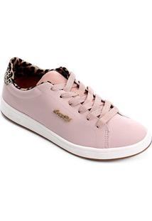 Tênis Coca-Cola Town Girl New Feminino - Feminino-Rose Gold