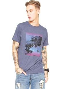 Camiseta Billabong Cross Section Azul