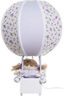 Abajur Balãozinho Potinho De Mel Lilás - Kanui