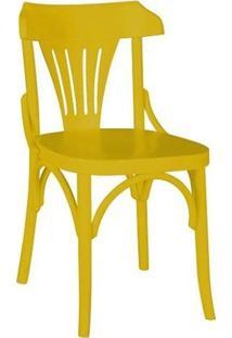 Cadeira Opzione - Amarelo - Tommy Design