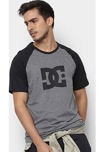 Camiseta Dc Shoes Raglan Star Masculina - Masculino