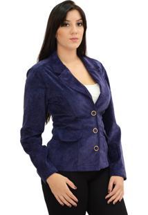 Blazer Energia Fashion Azul