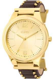 bba45ecea3bf4 ... Relógio Euro Feminino Metal Hit Eu2035Ykx 2D