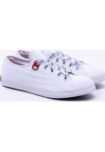 18c30a8a05 Gaston. Tênis Coca-Cola Shoes Basket Canvas Feminino 36