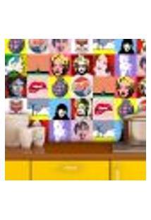 Adesivo De Azulejo Pop Art 3 20X20Cm