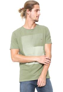 Camiseta Aramis Degradê Verde