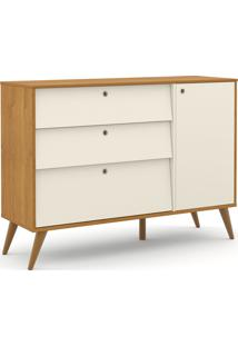 Cômoda Gold Freijó/Off White/Eco Wood Matic Móveis