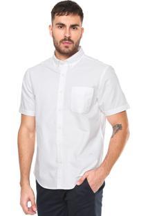 Camisa Richards Oxford Fit Básica Branca