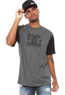 Camiseta Dc Shoes Epic Cinza