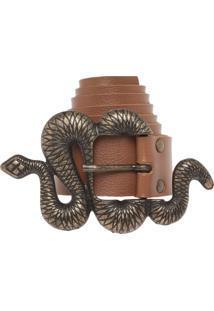 Cinto Fiveblu Cobra Caramelo