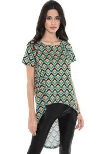Camiseta My Favorite Thing(S) Mullet Verde/Laranja
