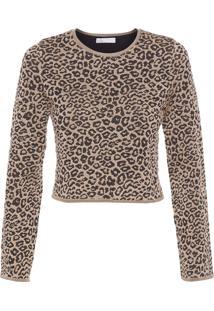 Blusa Feminina Leopard Bia - Animal Print