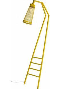 Luminaria Revisteiro Sampa Com Estrutura Em Tubo Redondo Cor Amarelo 1,70 Mt (Alt) - 53594 - Sun House