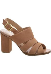 Sandal Boot Bloco Natural Savannah Nude Vintage | Arezzo