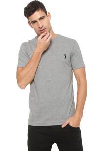 Camiseta Aleatory Logo Cinza