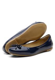 Sapatilha Casual Confort Yes Basic 200 Azul Marinho