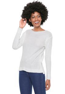 Suéter Mercatto Tricot Básico Off-White