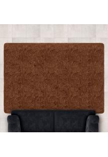 Tapete Confort Shaggy 1,40M X 2,00M Para Salas E Quartos Marrom - Bene Casa - Unico - Dafiti