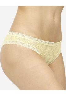 Calcinha BiquãNi Panty- Amarela- Injoyinjoy