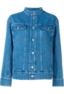A.P.C. Jaqueta Jeans Slim - Azul
