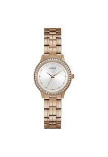 Relógio Guess Analógico Feminino Rose - W1209L3 Rosa