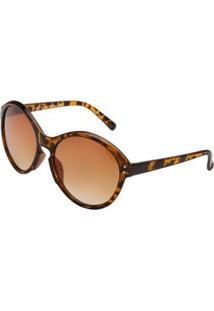 Óculos Ray Flector Buckingham 286Co - Feminino-Dourado+Preto