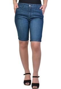 Bermuda Jeans Bolso-Faca Yck'S