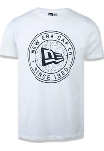 Camiseta New Era Lifestyle New Era Brasil Off White